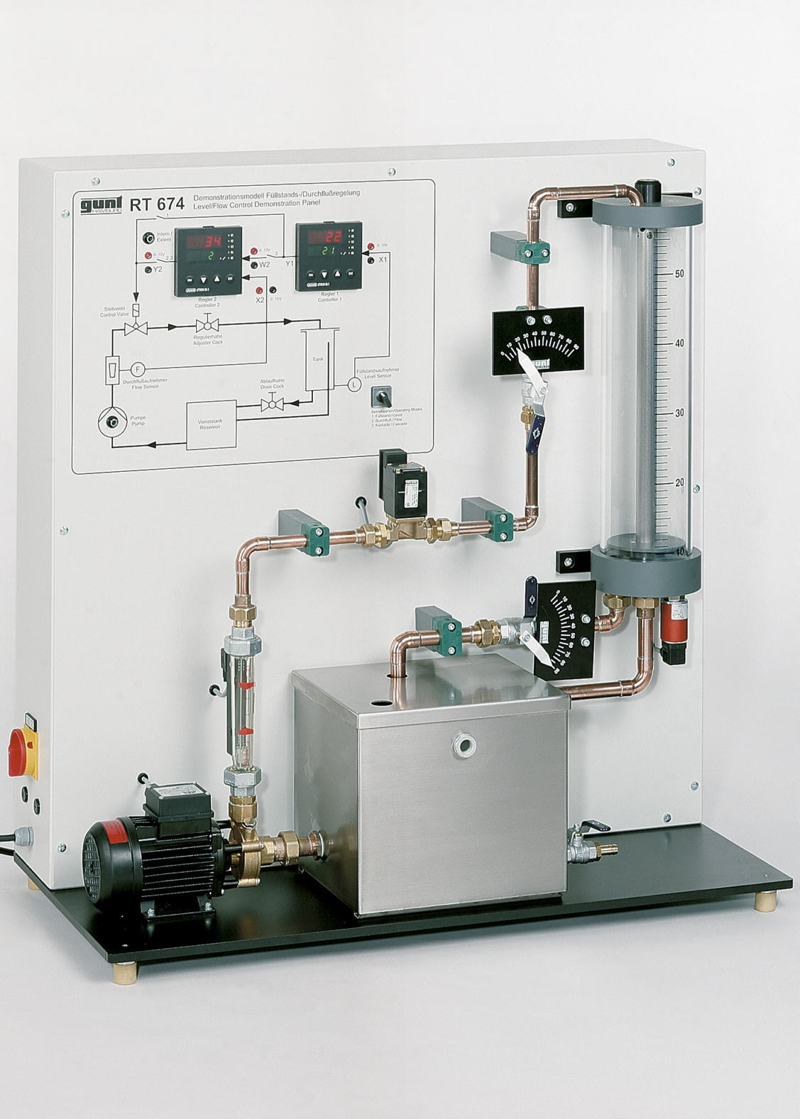 Flow / Level Control Demonstration Unit