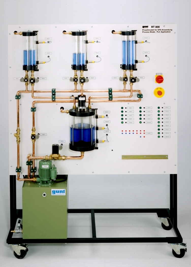 PLC Application: Mixing Process