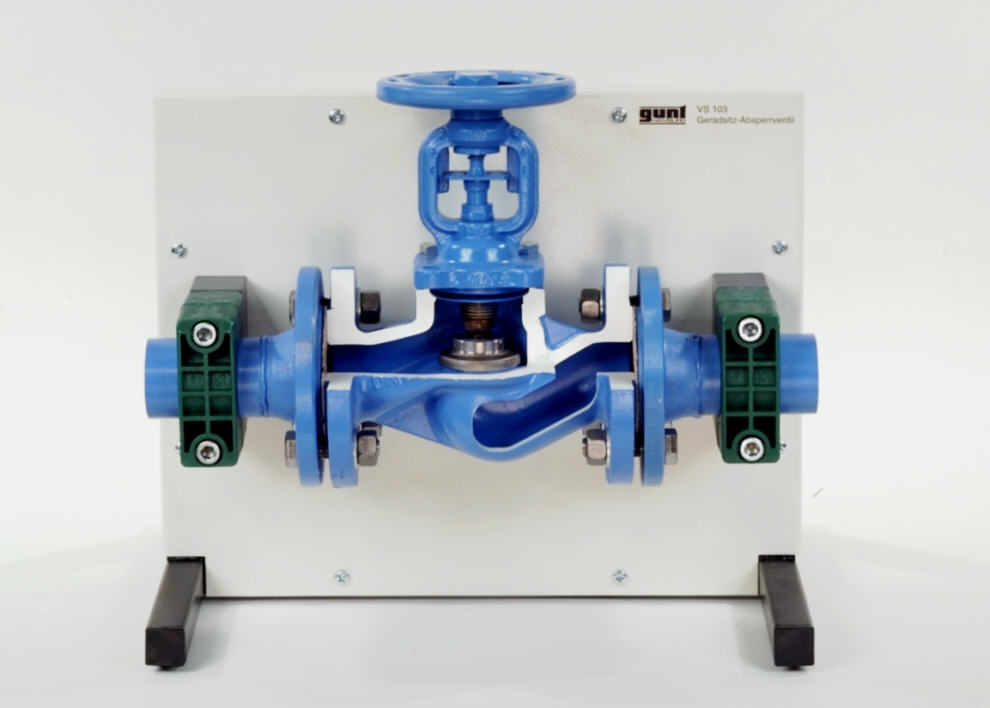 Cutaway Model: Flanged Globe Valve