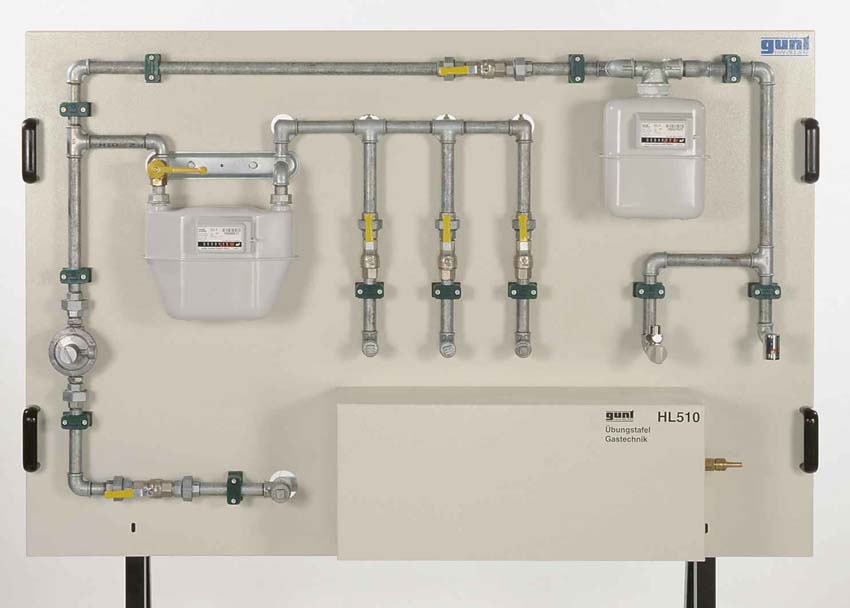 Domestic Gas Supply Training Panel
