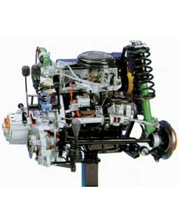 FRONT-WHEEL DRIVE PETROL ENGINE