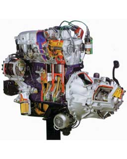 MULTIPOINT ELECTRONIC INJECTION PETROL ENGINE
