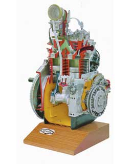 AIR COOLED PETROL ENGINE