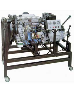 OPERATING DIESEL ENGINE overhauled with GEARBOX