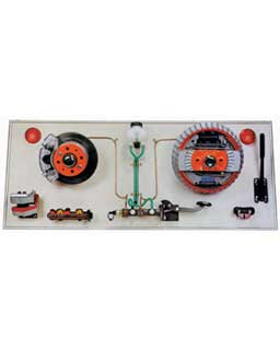 TWIN CIRCUIT DRUM AND DISC BRAKE