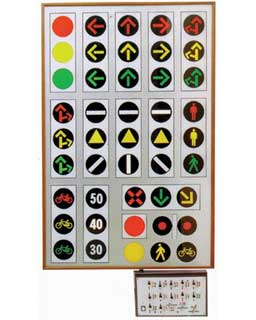TRAFFIC LIGHT PANEL