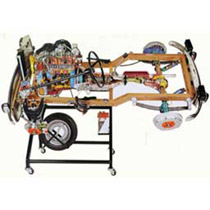 CHASSIS REAR-WHEEL DRIVE PETROL ENGINE