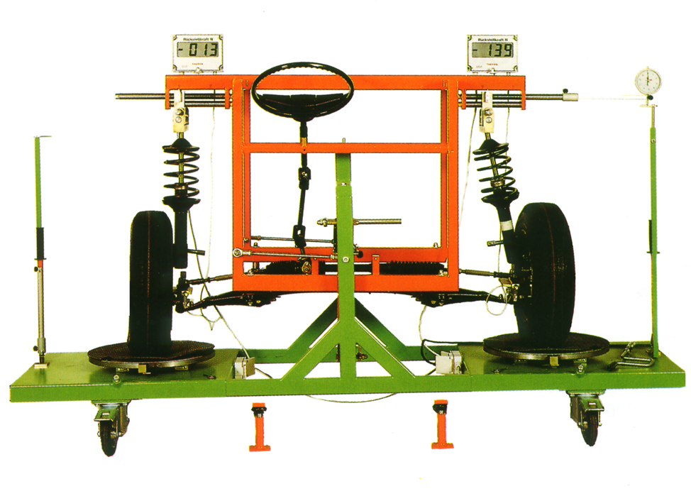 Front Axle Measuring Stand with Wishbone - McPherson-Suspension