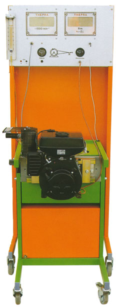 Dynamometer; Test stand for small engines up to 6 kW
