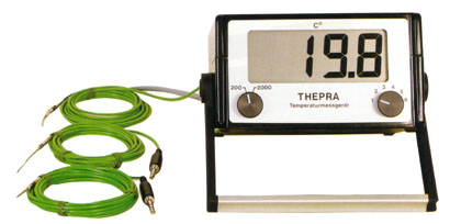 Temperature instrument (Thermometer) with 6 measuring points