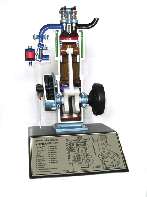 4-stroke engine model